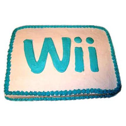 Wii Engaging Logo Cake 4kg