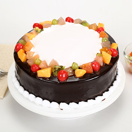 Wild Forest Cake 2kg Eggless