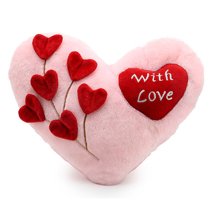 With Love Cushion