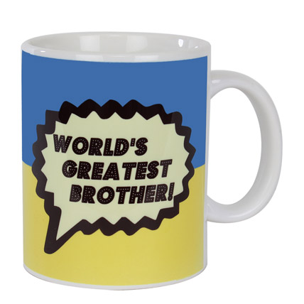 Worlds Greatest Brother Mug