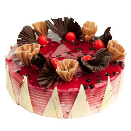 Yummy Blueberry Cake Half kg