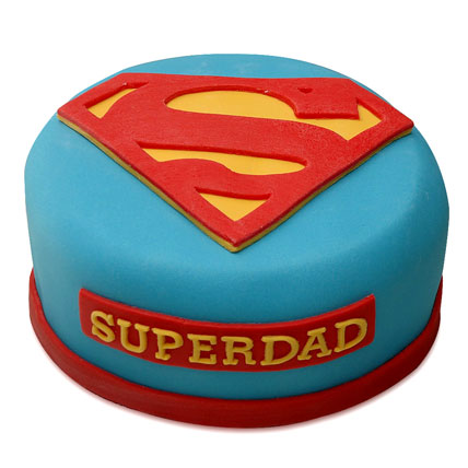 Yummy Super Dad Special Cake 3kg