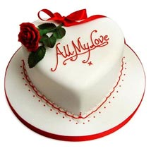 All My Love Cake: 10Th Anniversary Cakes