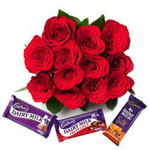 Always Close to my Heart: Send Flowers & Chocolates to Faridabad