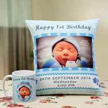 Angelic Dreams Personalized Combo: Send Personalised Cushions for Kids