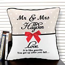 Cherishment of Love: Personalised Cushions for Husband