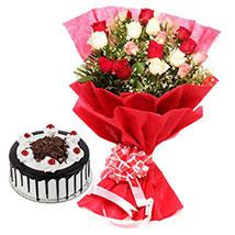 Colorful Roses n Cake
