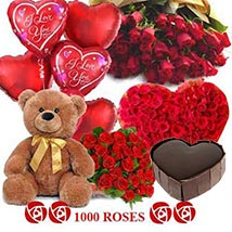 Crazy in Love: Send Flowers & Teddy Bears to Noida