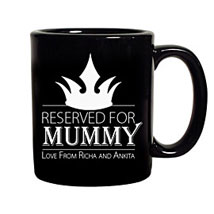 Crown Reserved For Mummy Mug: Mothers Day Personalised Mugs
