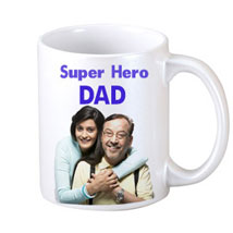 DAD Personalized Coffee Mug: Fathers Day Personalised Mugs