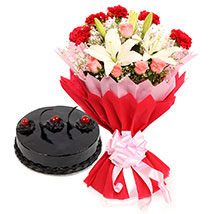 Enchanted Bloom: Cake Delivery in Bathinda