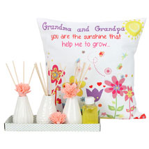 Essence Kit and Cushion: Grand Parents Day Gifts