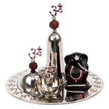 Exquisite Puja Thali: Ganesh Chaturthi Gifts