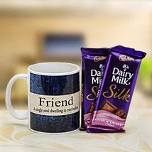 Friends Mug Combo: Friendship Day Chocolates