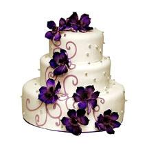 Glamorous Wedding Cake:  Cakes for Brother