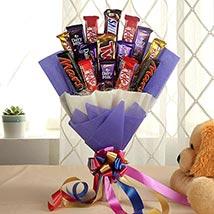 Glistening Choco Bouquet: Chocolate Bouquet