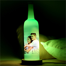Glowing Love Personalized Lamp: Personalised Gifts Bengaluru