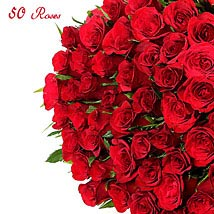 Golden Jubliee: Valentine Roses Chennai