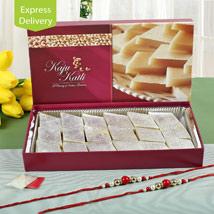 Half Kg Kaju Sweets And 2 Rakhis: Rakhi Gifts  for All Siblings