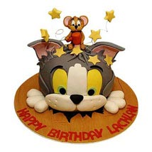 Hammering Tom Jerry: Send Birthday Cakes to Vadodara