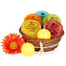 Heavenly Relaxing Soap Hamper: Gift Hampers to Noida