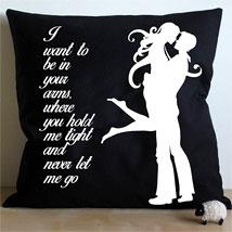 Hug Me Cushion: Home Decor for Anniversary