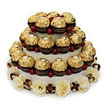 Leaning Tower of Chocolate: Send Bhai Dooj Chocolates