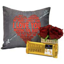 Love Cushion For You: Rose Day Gifts