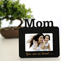 Lovely Mom Personalized Frame: Mothers Day Photo Frames