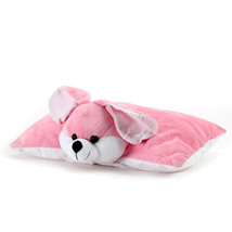 Lovely Pink Bunny: Send Home Decor for Wedding