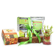 Lucky Bamboo and Nourish Organics: House Warming Gift Baskets