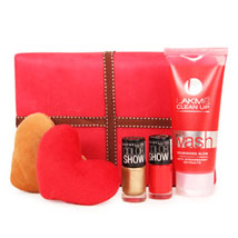 Magical Of Womanhood Hamper: Send Valentines Day Gift Hampers