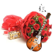 Melodious Expression of love: Send Valentine Flowers for Him