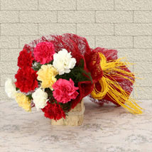 Mixed Colored For Love: Send Birthday Flowers to Bhopal