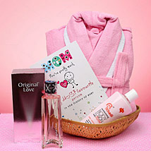 Mothers Day Beauty Hamper: Send Perfumes for Mothers Day