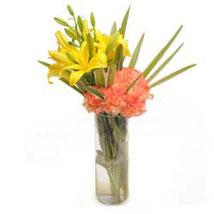 Orange Delight: Lilies for Him