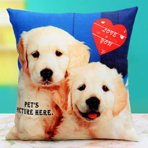 Pat the Pet Personalized Cushion: Send Cushions