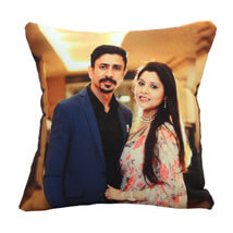Personalize Photo Cushion: Send Anniversary Gifts for Colleague