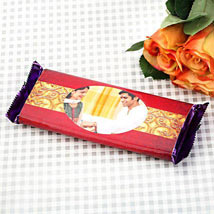 Personalized Chocolate Delight: Rakhi Personalized Gifts