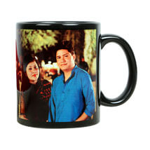 Personalized Couple Mug:  Send Birthday Gifts to Panipat