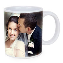 Personalized Couple Photo Mug: Send Personalised Mugs for Wife
