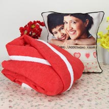 Personalized Cuddling N Relaxing: Cushions for Mother's Day