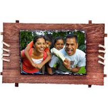 Personalized Framed Photo Rock: Friendship Day Personalised Photo Frames