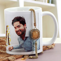 Personalized Rakhi Bond: Rakhi With Mugs