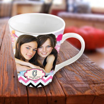 Picture Perfect Personalized Mug: Personalised Mugs for Birthday