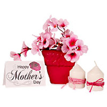 Pinky Mommy Hamper:  Artificial Flowers for Wedding