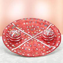 Pious Platter: Karwa Chauth Pooja Thali Bengaluru