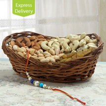 Rakhi And Dry Fruits: Send Rakhi to Jalna