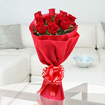 Red Stands For Love: Send Flowers to Hapur