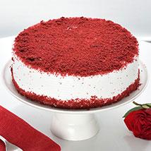 Red Velvet Fresh Cream Cake:  Cake Delivery in Chandigarh